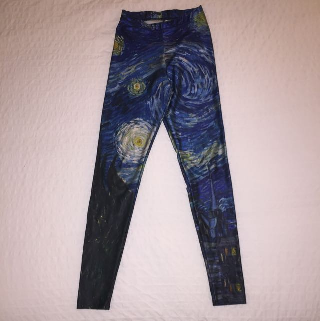 ** RESERVED ** Blackmilk Starry Night Leggings