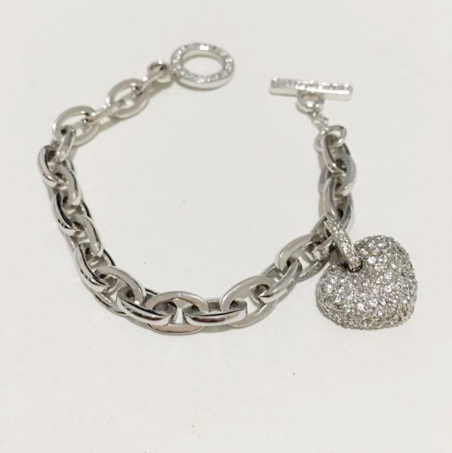 Bracelet With Heart Pendant