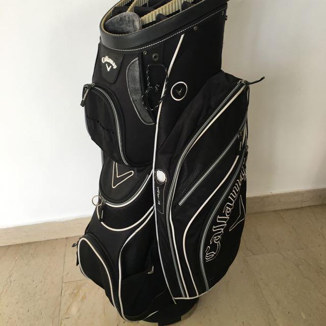 Callaway Cart Bag with External Putter Slot