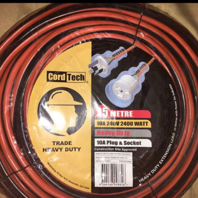 Extension Cable Heavy Duty