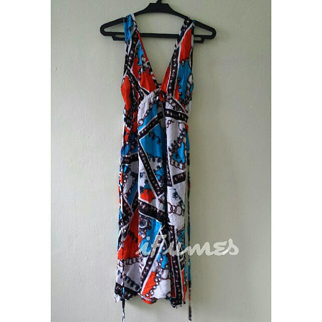 Flowy Summer Dress Small