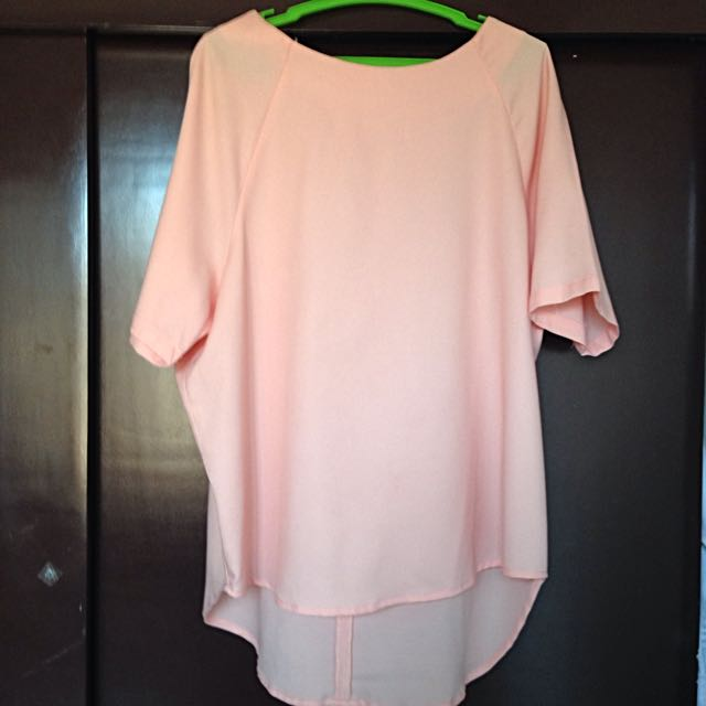 For Me Baby Pink Blouse