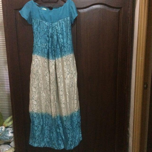 Gradasi Long Dress