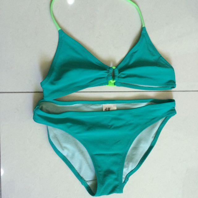H & M Bikini Size 10-11 Years Old