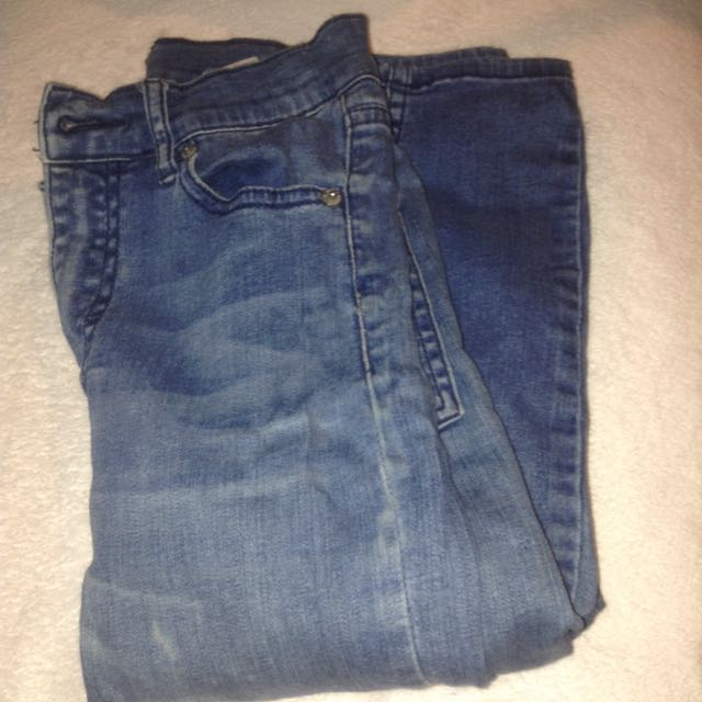 High Waisted Cheap Monday Jeans