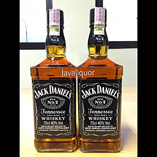 JACK DANIELS OLD NO.7 TENNESSEE BOURBON WHISKEY / WHISKY, Food & Drinks,