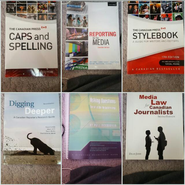 Journalism Textbooks