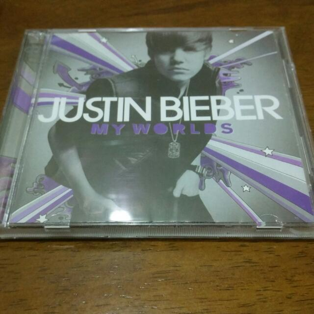 Justin Bieber My Worlds Deluxe 2 CD
