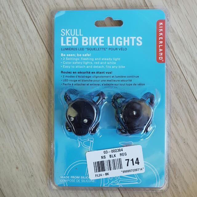 Kikkerland LED Bike Lights