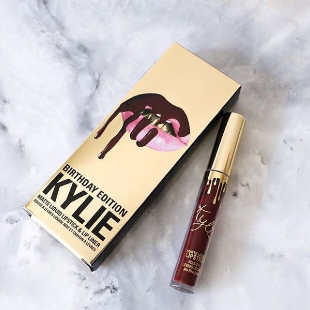 Kylie Lipkit Birthday Collection READY STOCK
