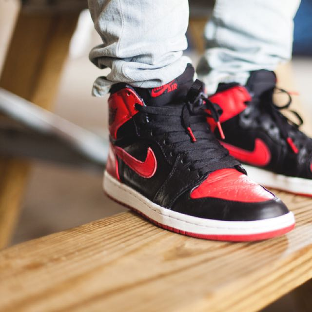 Looking For Air Jordan Bred 1 Banned for my son 841583a7a