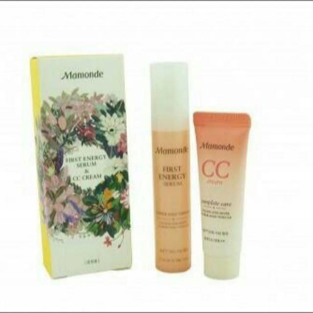 Mamonde CC Cream And First Energy Serum