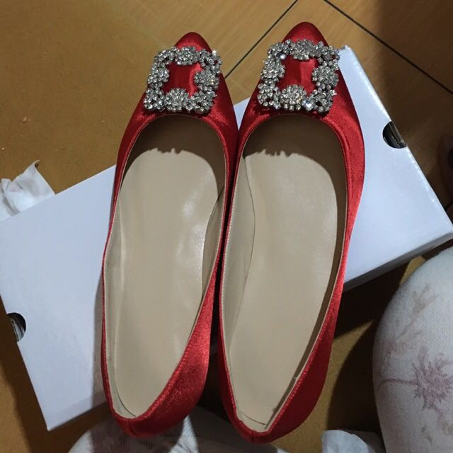 Manolo Blahnik Inspired Flat Shoes