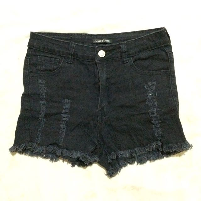 Maong Short (black)