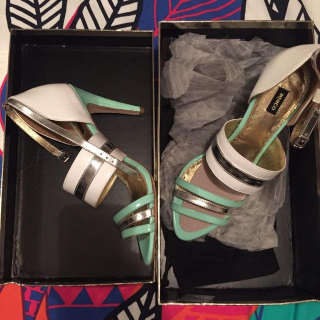 Mimco High Roller Stiletto Shoes Size 41