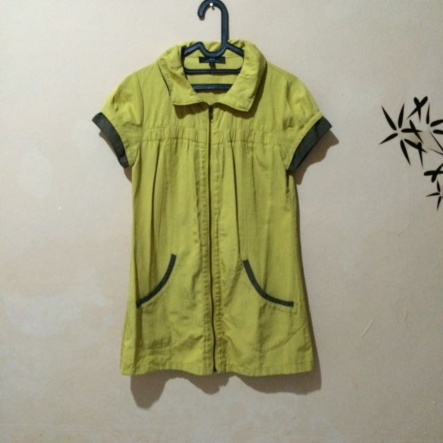 Mini Dress Kuning