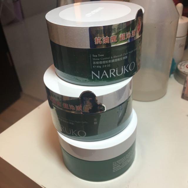 三罐一起賣含運。茶樹晚安面膜牛爾naruko