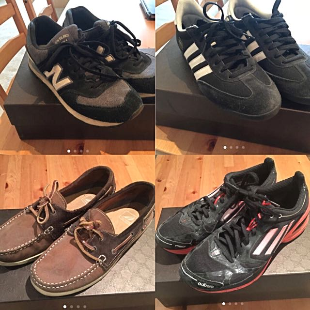 New Balance, Adidas Dragon Sneakers, Topman Boat Shoes