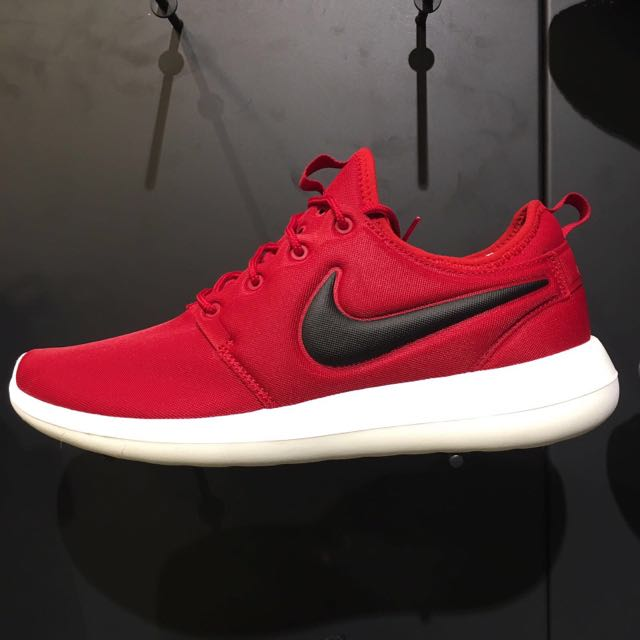 wholesale dealer 22c25 2f4b9 Nike Roshe Two Gym Red Black Sail USD$89.99