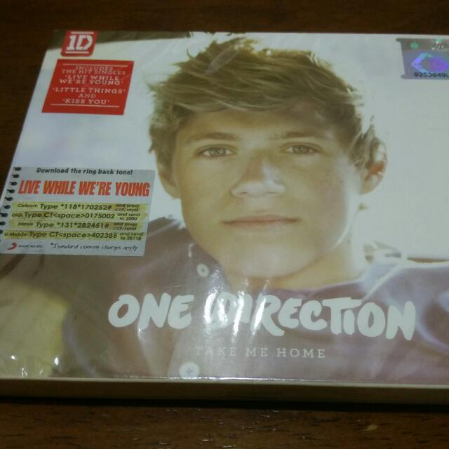 One Direction Take Me Home Brand New Sealed CD