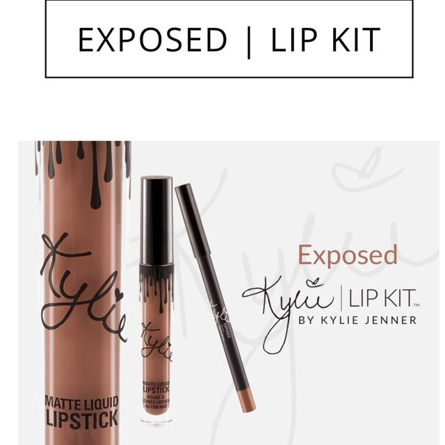 Original Exposed Kylie Lip Kit