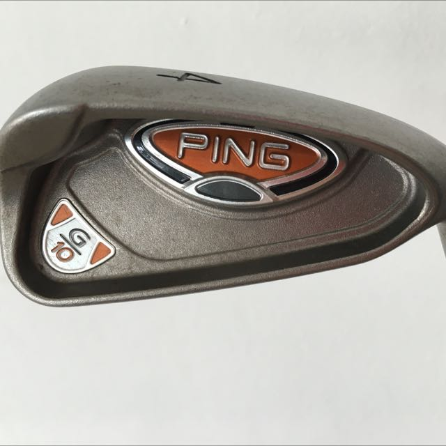 Ping G10 Golf Irons 4-5-6-7-8-9-W-S