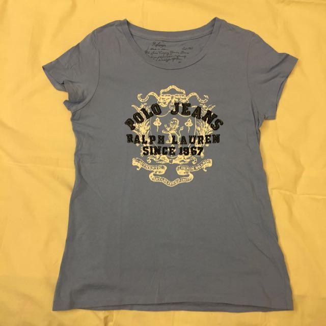 Polo Ralph Lauren 藍色 T-shirt