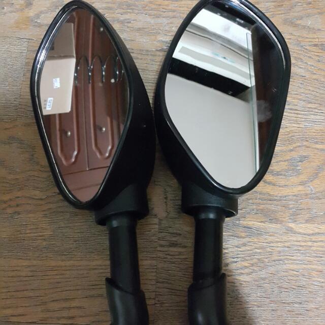 RDR 118 勇士鏡(類GMAX後照鏡)10mm正正牙