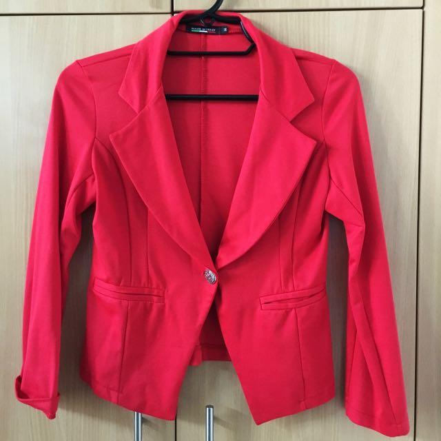 Red Blazer (Medium)