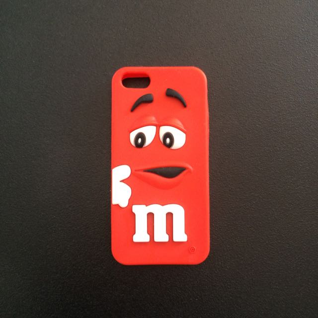 Red MnM iPhone 5/5s Cover
