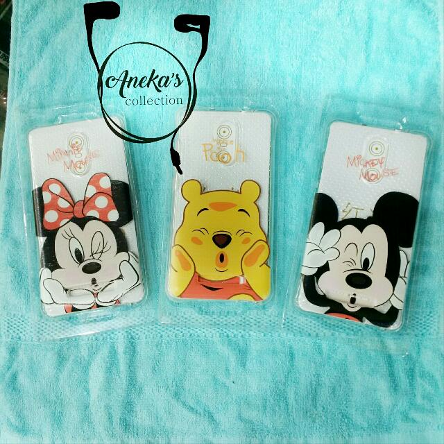 [Sold Out] Silikon Karakter Micky/ Minnie/ Winnie the Pooh for Xiaomi Note 3 & Xiaomi Note 3 Pro