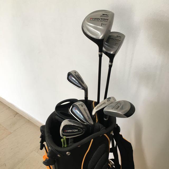 Slazenger Junior Golf Set 13-17 Age