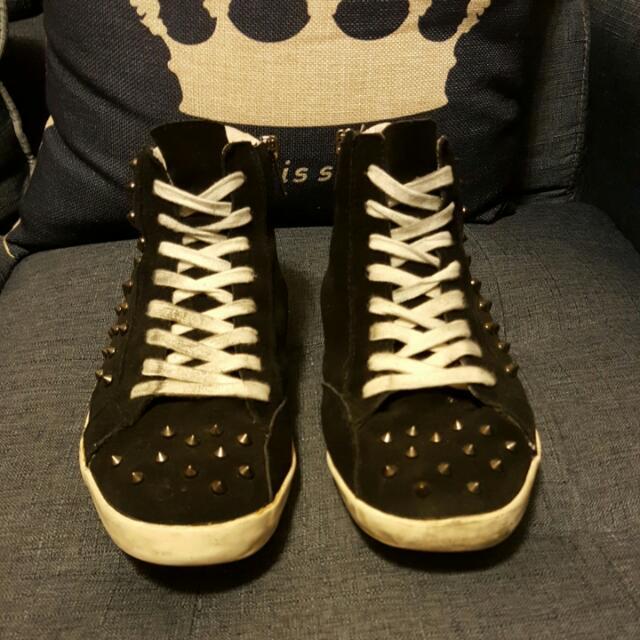 美國品牌STEVE MADDEN 鉚釘潮鞋