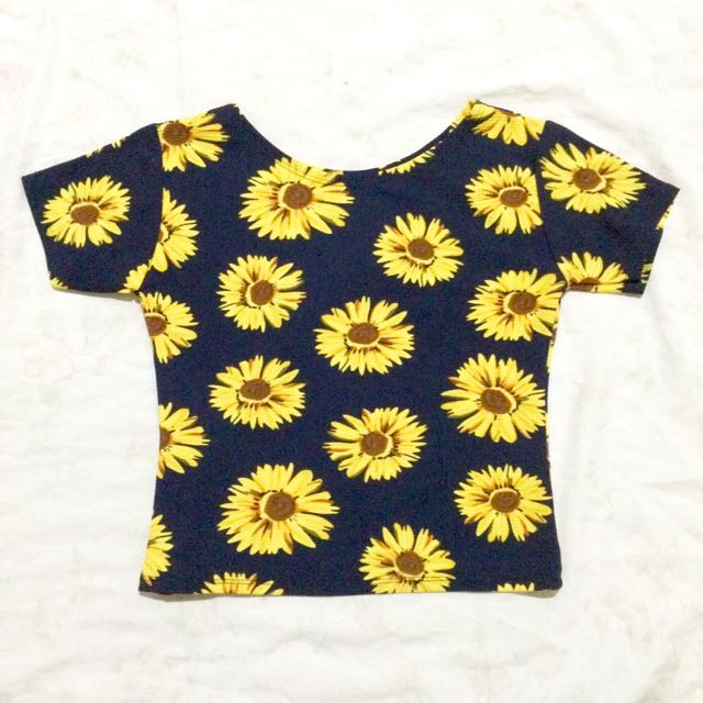 Sun Flower blouse