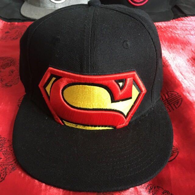 Superman Snapback Cap Office DC Comics