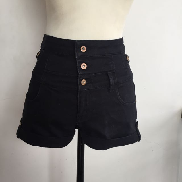 Topshop High Waist Shorts