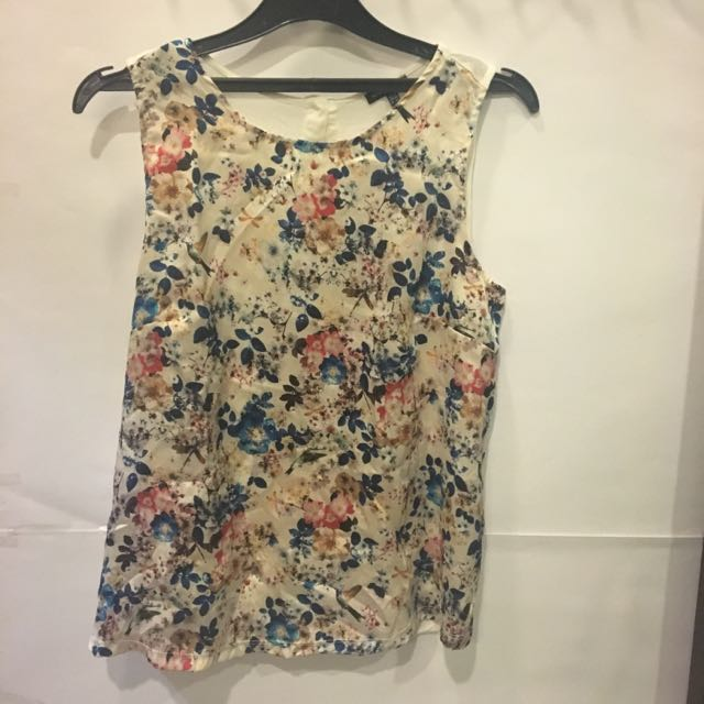 WAREHOUSE Sleeveless top