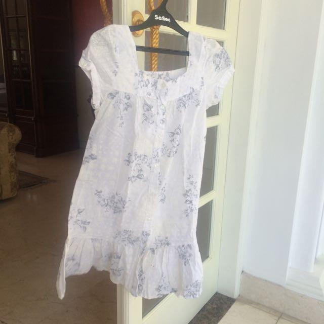 White Flower dress
