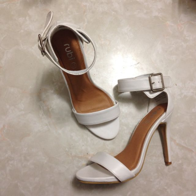 PENDING White Rubi Heels