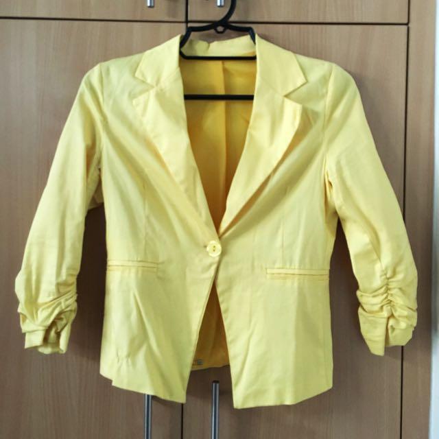 Yellow Blazer (Medium)