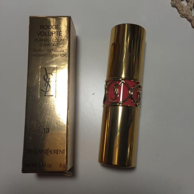 ysl 唇膏 13號色 專櫃熱賣色