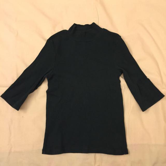 Zara 七分袖上衣