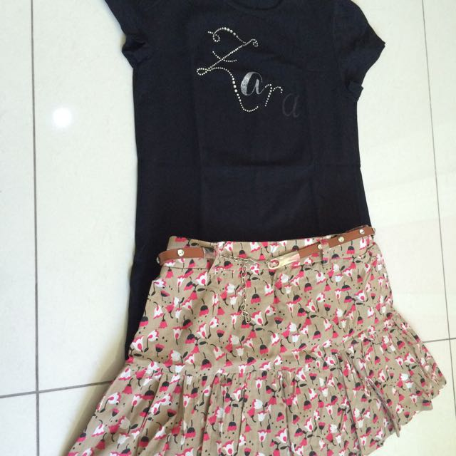 Zara T-Shirt Size 9-10 M&S Size 10 Years Old