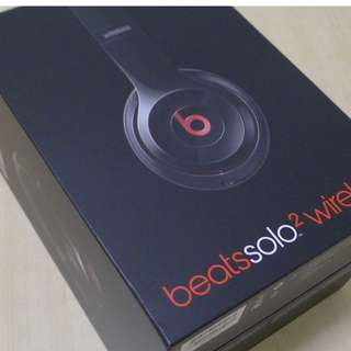 Beats Solo2 Wireless (New) - price reduced