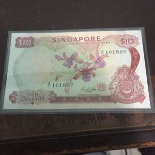 $10 Orchid Series Notes