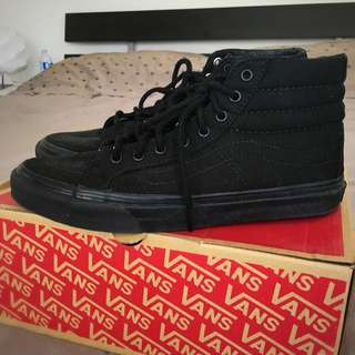 *REDUCED* Black Vans