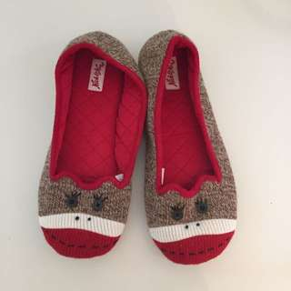 Sock Monkey Slippers.