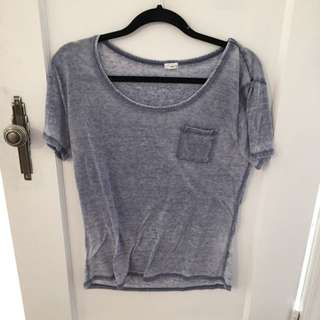 Garage Blue Lightweight Top
