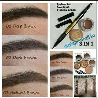 2in1 eyebrow n eyeliner lanbis lasting perfect