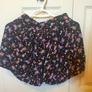 Flower Skirt/short